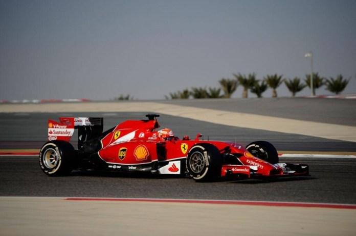 Ferrari F14 T Raikkonen