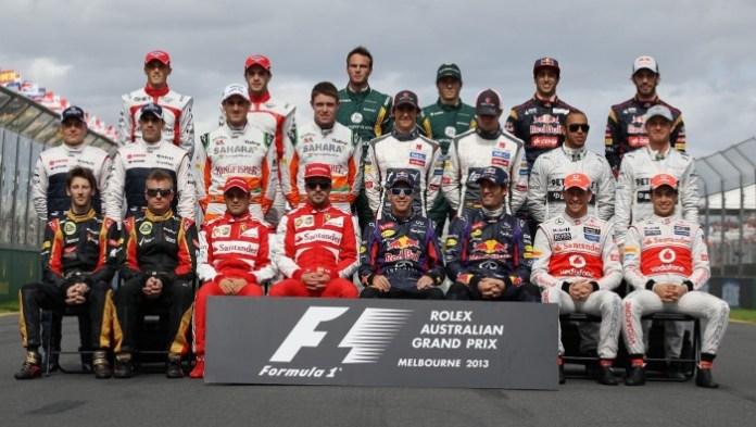 Formula 1 2013_The Drivers