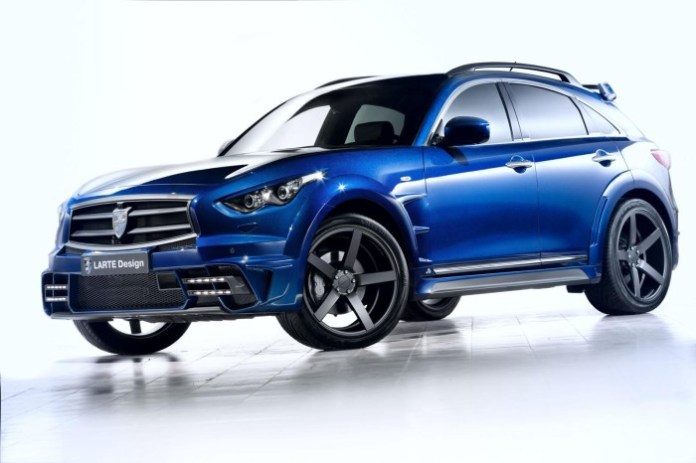 Infiniti QX70 by LARTE Design 1
