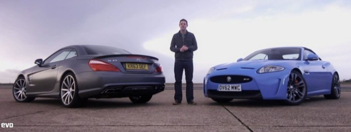 Jaguar XKR-S Vs Mercedes SL63 AMG