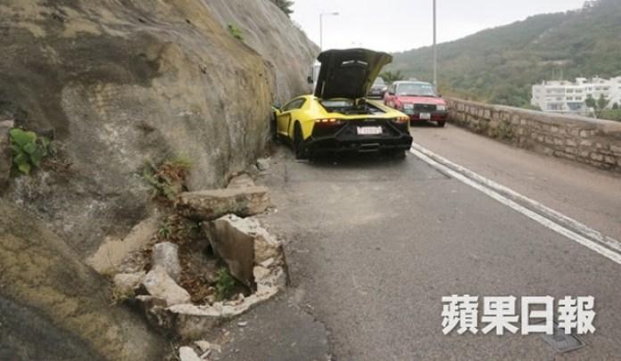 Lamborghini Aventador LP 720-4 50 Anniversario crash (3)