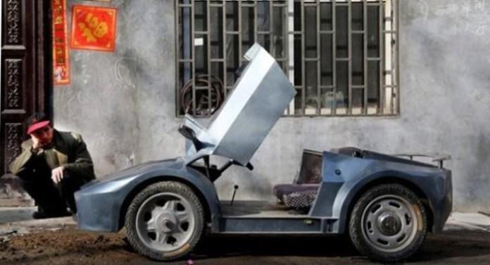 Lamborghini Aventador mini replica 1