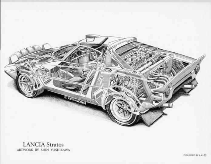 Shin Yoshikawa Cutaway Cars