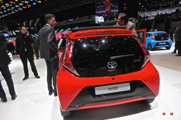 Toyota Augo 2015