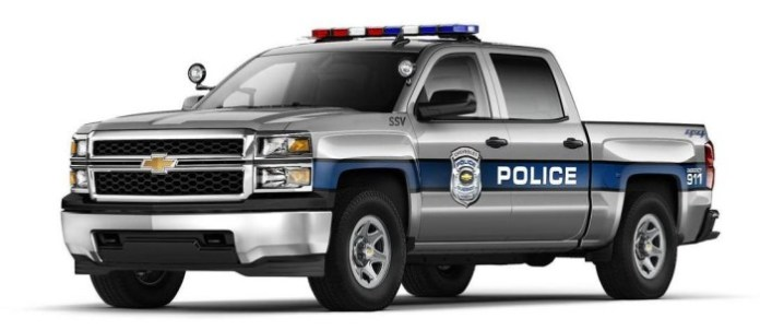2015 Chevrolet Silverado 1500 Crew Cab Special Service Vehicle (SSV) (1)