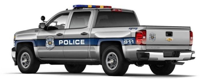 2015 Chevrolet Silverado 1500 Crew Cab Special Service Vehicle (SSV) (2)