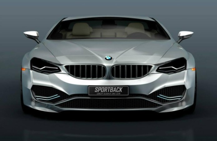 BMW Sportback Concept rendering 1