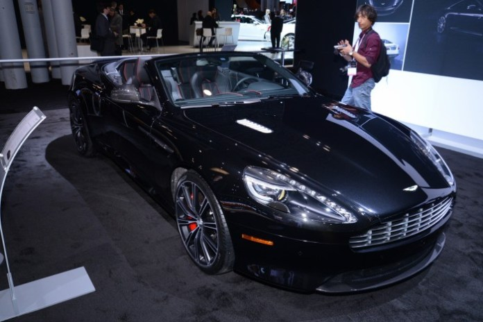 Aston Martin Vantage GT and DB9 Carbon Edition