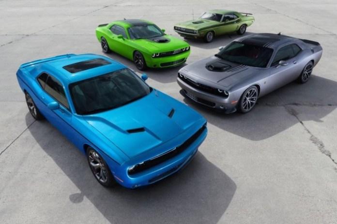 Dodge Challenger Facelift 2015