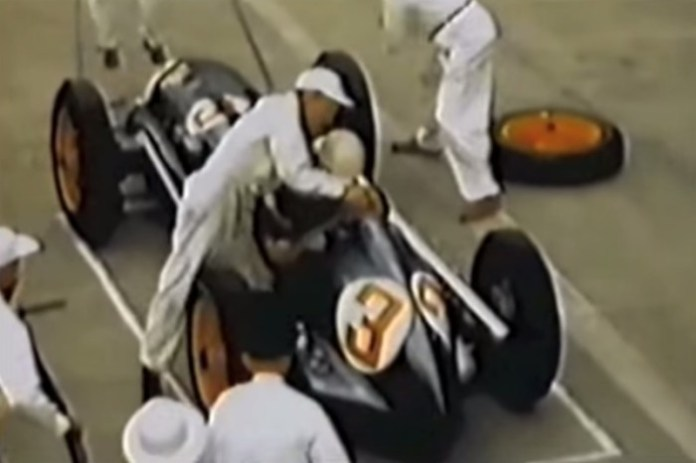 F1 Pit Stop 1950