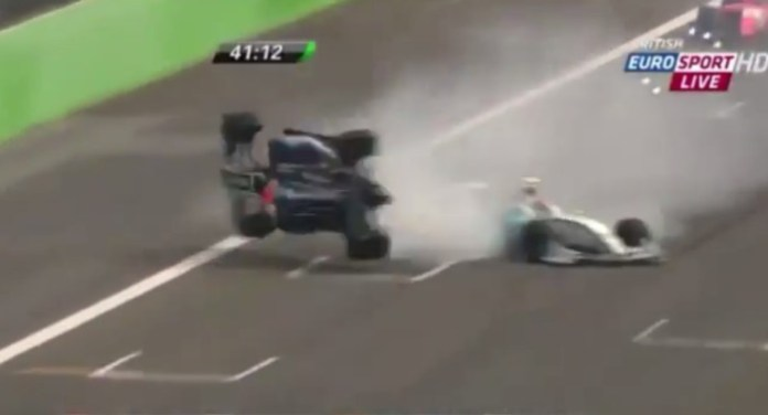 Formula Renault 3.5 Crash