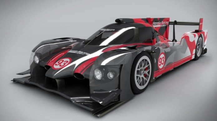 Honda Performance Development ARX-04b LMP2 Coupe (1)