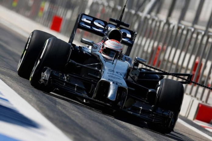 McLaren Bahrain 3rd Test - Day 1
