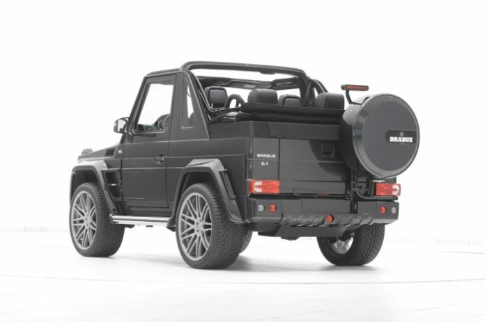 Mercedes-Benz G500 Convertible by Brabus 28