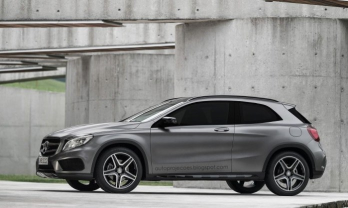 Mercedes-Benz GLA Coupe rendering