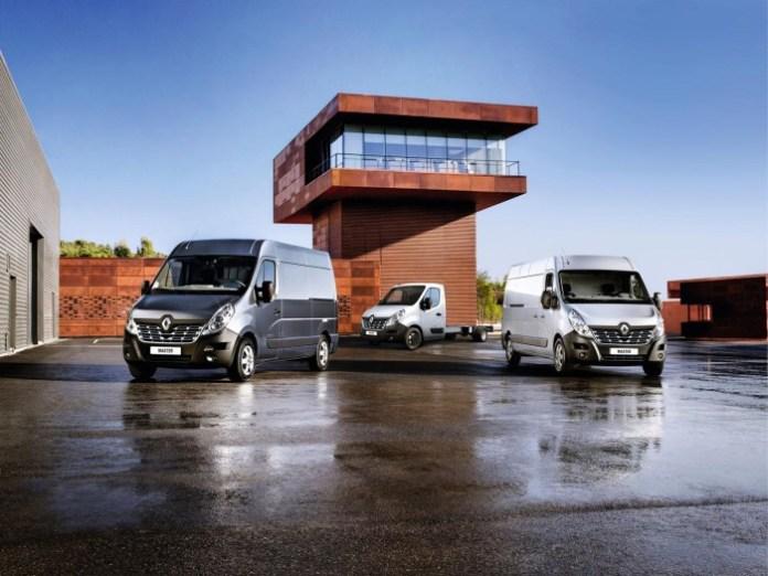 Renault Master facelift 2014
