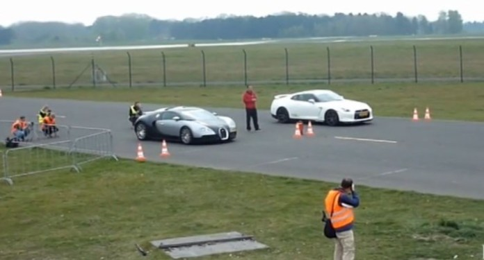 Switzer P800 Nissan GT-R vs. Mansory Bugatti Veyron