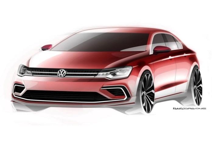 Volkswagen Midsize Coupe Concept