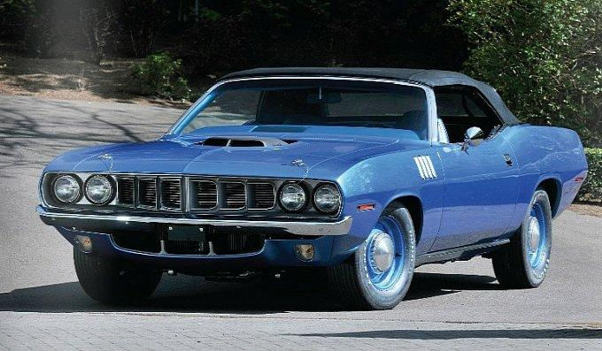 1971 Plymouth Hemi Cuda Convertible for sale (1)