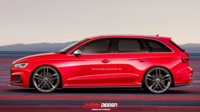 Audi A3 Avant Quattro Concept2