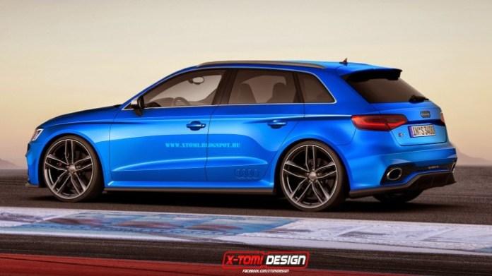 Audi A3 Sportback Quattro Concept2