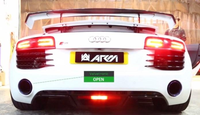 Audi R8 Armytrix
