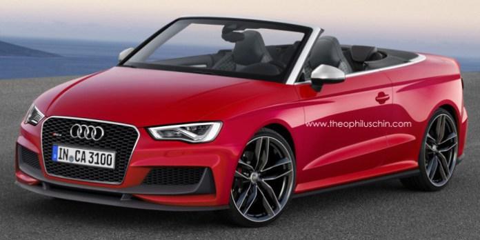 Audi RS3 Cabriolet Renderings (1)