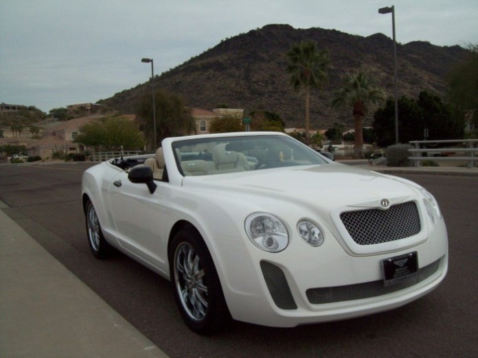 Bentley Continental GTC Replica