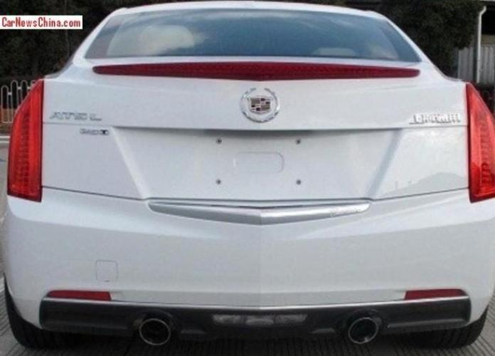 Cadillac ATS-L spy photo 2