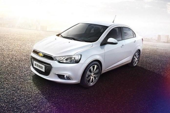 Chevrolet Aveo facelift (2)