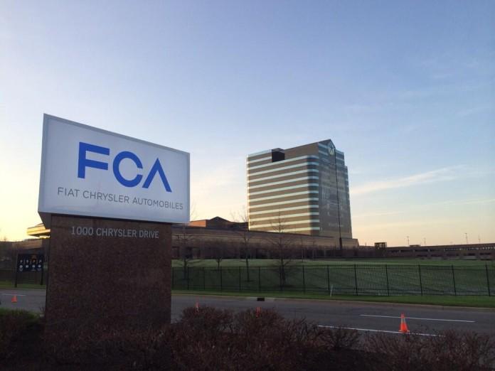FCA Corporate sign