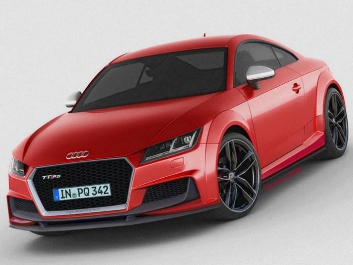 2015 Audi TT RS render