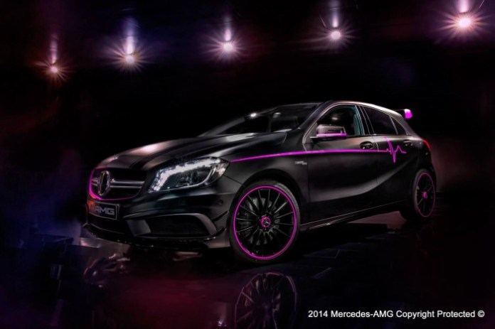 Mercedes A45 AMG Erika by AMG Performance Studio 1