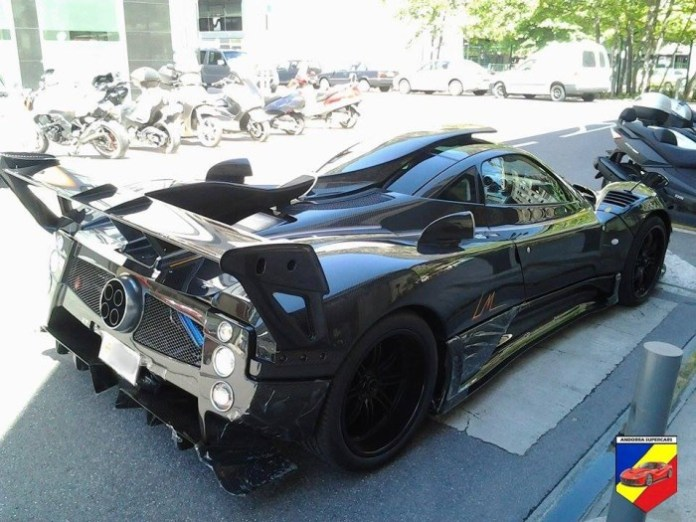 Pagani Zonda LM delivered