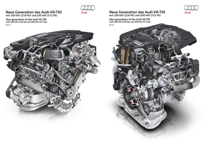 audi new 3.0 tdi engine