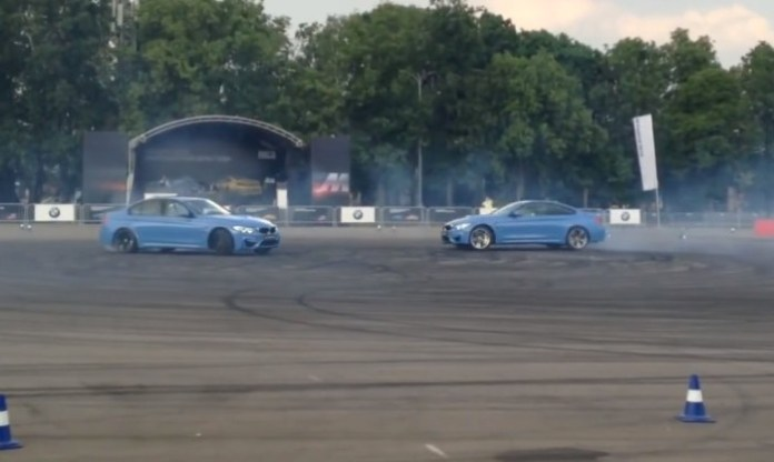 bmw m3 and m4 drift