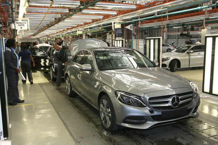 Produktion der Mercedes-Benz C-Klasse im Werk East London (Südafrika) // Production of the Mercedes-Benz C-Class at the East London (South Africa) plant