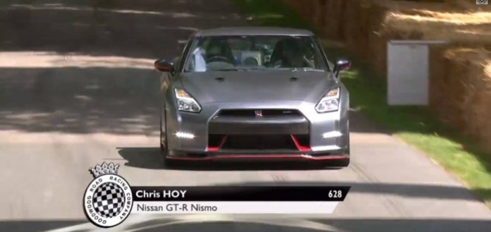 Nismo GT-R Crashes At The Goodwood