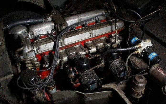 Aston Martin DB Mark III barnfind