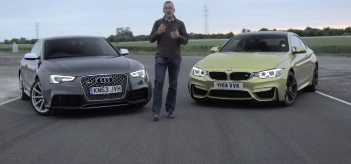 BMW M4 Vs Audi RS5
