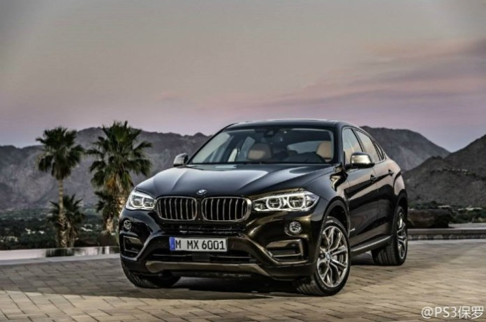 BMW X6 2015 leaked photos (1)