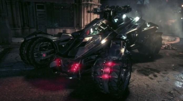 Batman Arkham Knight Batmobile Battlemode