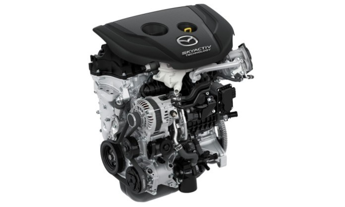Mazda new 1.5 Skyactiv-D Diesel Engine for Mazda2