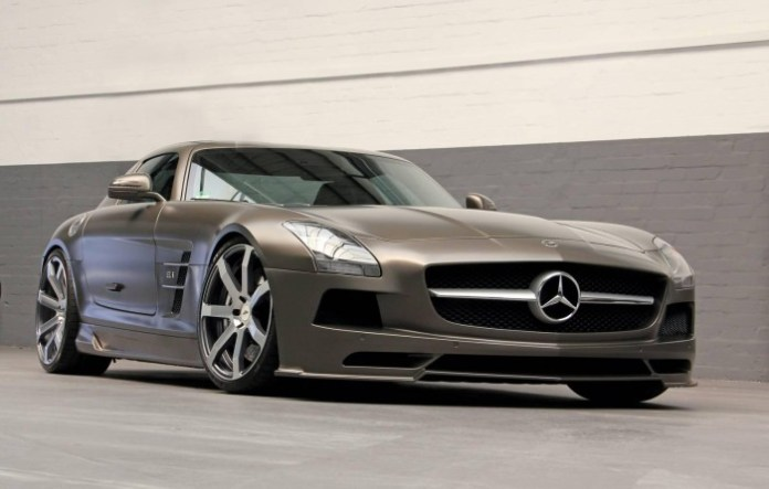 Mercedes-Benz SLS AMG by DD Customs 1