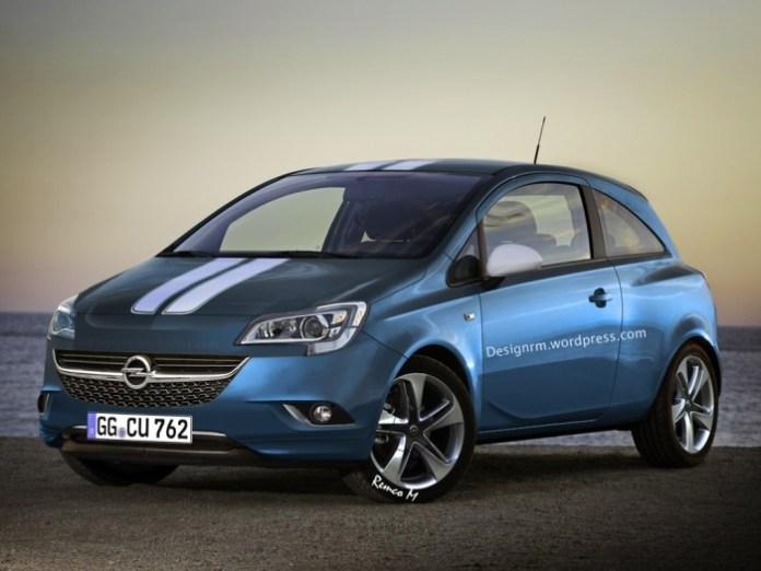 Opel Corsa 2015 rendering (1)