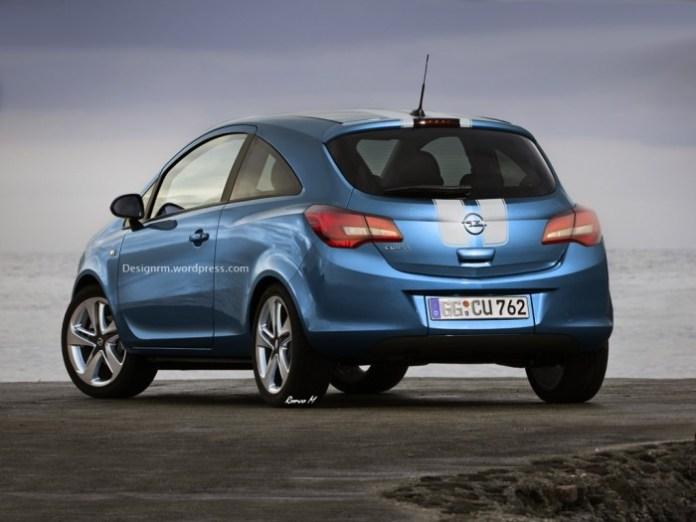 Opel Corsa 2015 rendering (2)