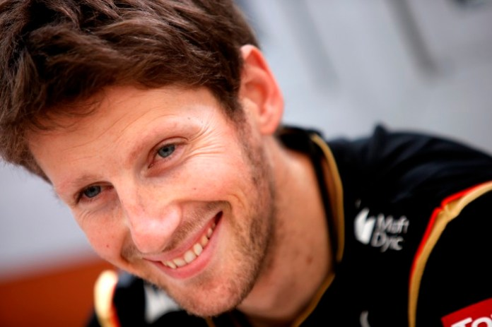 Circuit de Catalunya, Barcelona, Spain. Saturday 10 May 2014. Romain Grosjean, Lotus F1. Photo: Charles Coates/Lotus F1 Team. ref: Digital Image _J5R2146