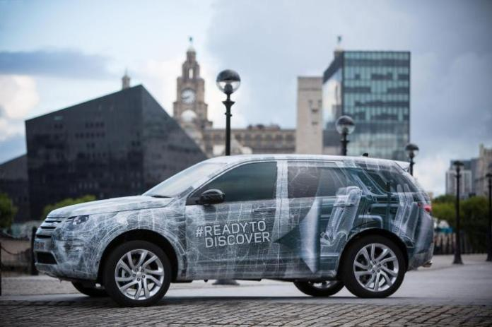 2015 Land Rover Discovery Sport teaser image (3)