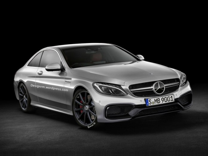 2015 Mercedes-Benz C 63 AMG Coupe Rendering (1)