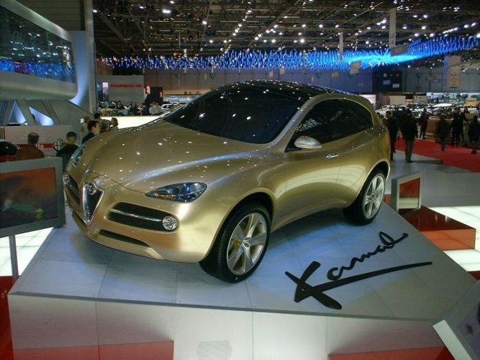 Alfa Romeo Kamal crossover concept